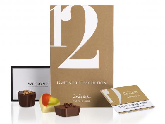 Subscription chocolate