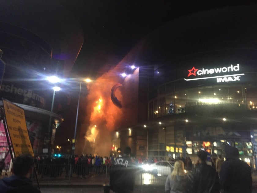 Cineworld fire