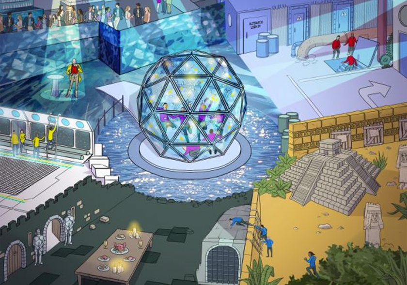 New Crystal maze