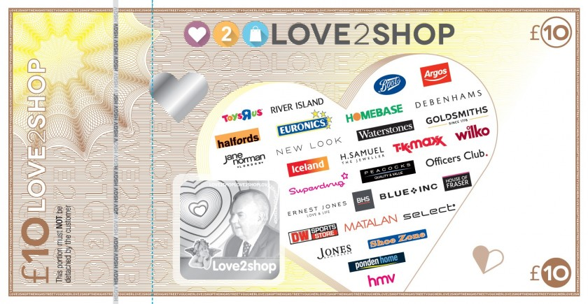 how to use love2shop vouchers online