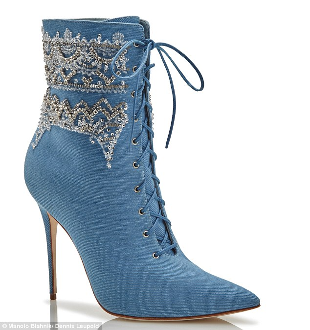 Rihanna Dancehall Cowgirl by Manolo