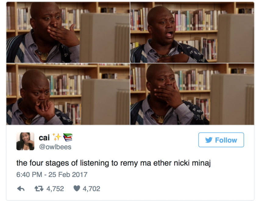 remy ma nicki minaj Twitter reaction